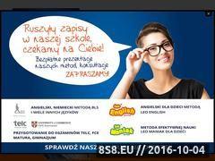 Miniaturka www.krakow.leaderschool.com.pl (Angielski - Kraków Leader School)