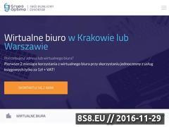 Miniaturka domeny www.krakowski-adres.pl