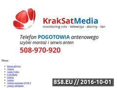 Miniaturka domeny kraksatmedia.com.pl