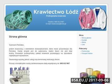 Zrzut strony Krawcowa Łódź