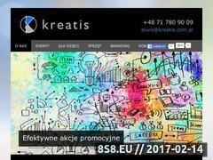 Miniaturka domeny www.kreatis.com.pl