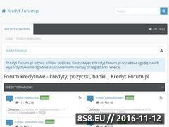 Miniaturka domeny www.kredyt-forum.pl