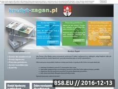 Miniaturka domeny www.kredyt-zagan.pl