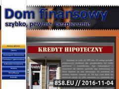 Miniaturka domeny kredyt.mazury.pl