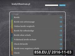 Miniaturka domeny www.kredyt24centrum.pl