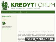 Miniaturka domeny www.kredytforum.pl
