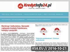 Miniaturka domeny kredytinfo24.pl