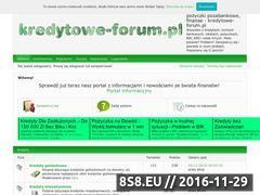 Miniaturka domeny kredytowe-forum.pl