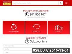 Miniaturka domeny kredyty-chwilowki.pl