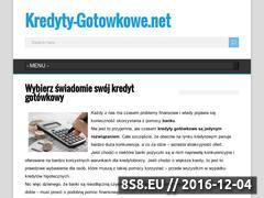 Miniaturka domeny www.kredyty-gotowkowe.net