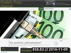 Miniaturka domeny kredyty-przez-internet.net.pl