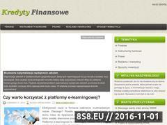 Miniaturka domeny kredytyfinansowe.com.pl