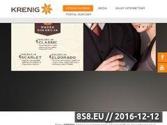 Miniaturka domeny www.krenig.pl
