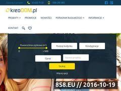 Miniaturka domeny www.kreodom.pl