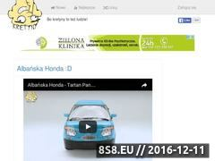 Miniaturka domeny kretyny.pl