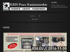 Miniaturka domeny www.krismarmur.pl