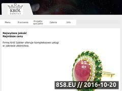 Miniaturka domeny krol-jubiler.pl