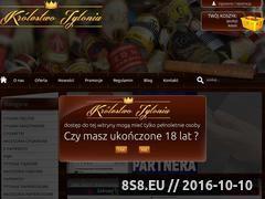 Miniaturka domeny krolestwotytoniu.pl