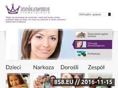 Miniaturka domeny www.krolewskastomatologia.pl