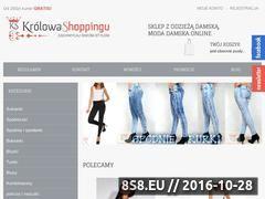 Miniaturka domeny www.krolowa-shoppingu.pl