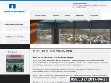 Zrzut strony Okna Gdańsk