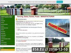 Miniaturka domeny www.krosfencing.eu