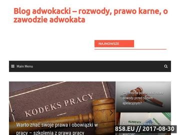Zrzut strony Radca prawny Kraków