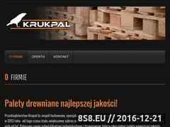 Miniaturka domeny www.krukpal.pl