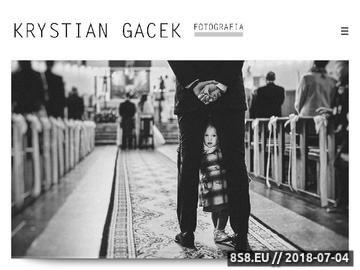 Zrzut strony Fotografia Slubna - Krystian Gacek, Rzeszow, Podkarpacie, Zdjecia Slubne