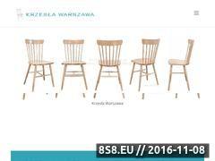 Miniaturka domeny www.krzesla.warszawa.pl