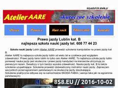 Miniaturka krzysztof-04.strefa.pl (Najlepsza szkoła nauki jazdy w Lublinie)