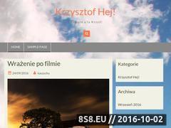 Miniaturka domeny www.krzysztofhej.waw.pl