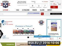 Miniaturka ksiegarniapower.pl (Księgarnia internetowa)