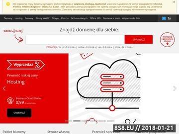Zrzut strony Doradca podatkowy Poznań