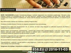 Miniaturka domeny ksiegowykrakow.ulotka.org