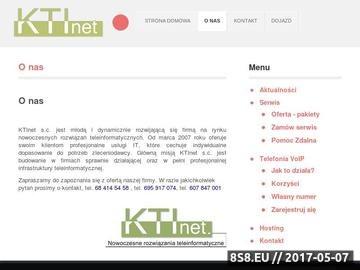 Zrzut strony KTInet - Obsługa informatyczna firm