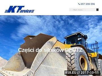 Zrzut strony Serwis Deutz