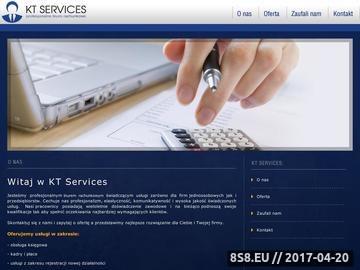 Zrzut strony KT Services - Biuro rachunkowe Bydgoszcz, Księgowość Piła