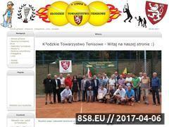Miniaturka ktt.ubf.pl (Kłodzkie Towarzystwo Tenisowe )