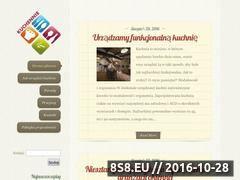 Miniaturka domeny kuchennie.net.pl
