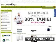 Miniaturka kuchniasklep.pl (Sklep z porcelaną i serwisami obiadowymi)