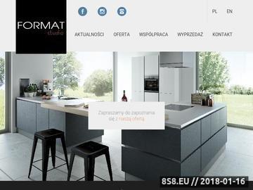 Zrzut strony Studio Kuchni FORMAT - kuchnie Kraków, meble kuchenne, szafy
