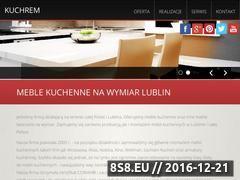 Miniaturka domeny www.kuchrem.pl