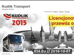 Miniaturka domeny kudlikbus.pl