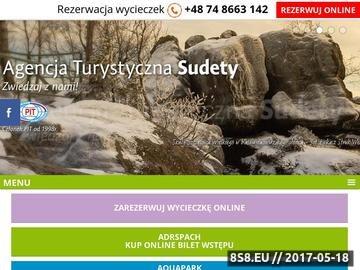 Zrzut strony Agencja turystyczna