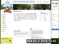 Miniaturka domeny kudowazdroj.com.pl