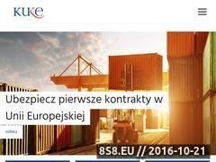 Miniaturka domeny www.kuke.com.pl