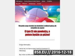 Miniaturka domeny www.kulkigejszy.com.pl