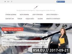 Miniaturka kup-sterydy.pl.tl (Sterydy anaboliczne)