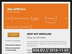 Miniaturka Stona z ofertą skupu samochodów we Wrocławiu (kupimykazdeauto.pl)